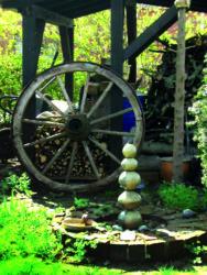 Garten von Brigitte Böhm bei der Offenen Gartenpforte